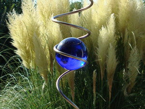 wind spinners made of stainless steel spiral