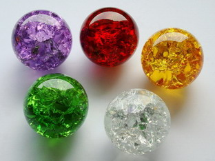 Effect glass balls