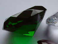 Glass diamonds 100-150 mm