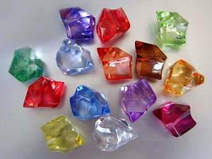 Deko Diamanten Groß.Acrylsteine Acryldiamanten Direkt Vom Deko Großhandel