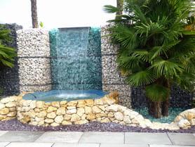 Glasbrocken, Glassteine, dekorative Highlights für Garten ...