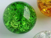 Effect Glass Balls 40mm