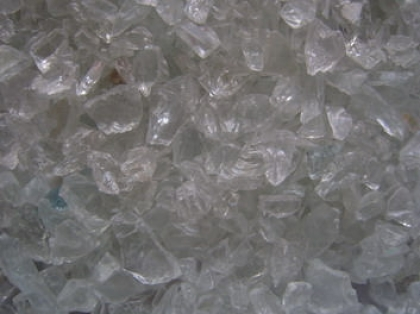 Glass Gravel  Clear 5-10 mm | 20 Kg | Glass Chippings