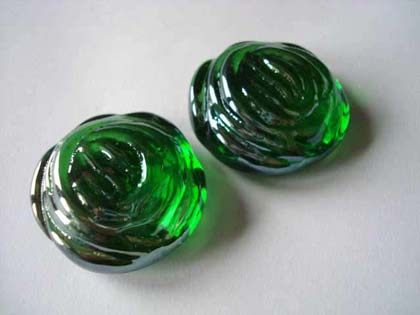 Glass Rose Green| Shimmering Surface | 1 Kg