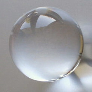 Crystal Glass Balls 25 mm Clear | Crystal Balls | Crystal Spheres