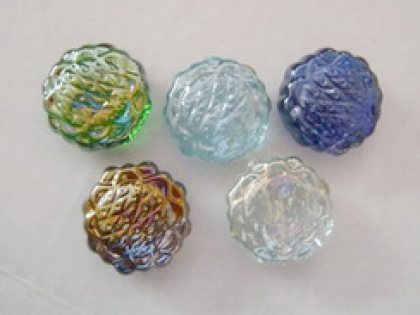 Glass Flower Cobalt Blue| Shimmering Surface | 1 Kg