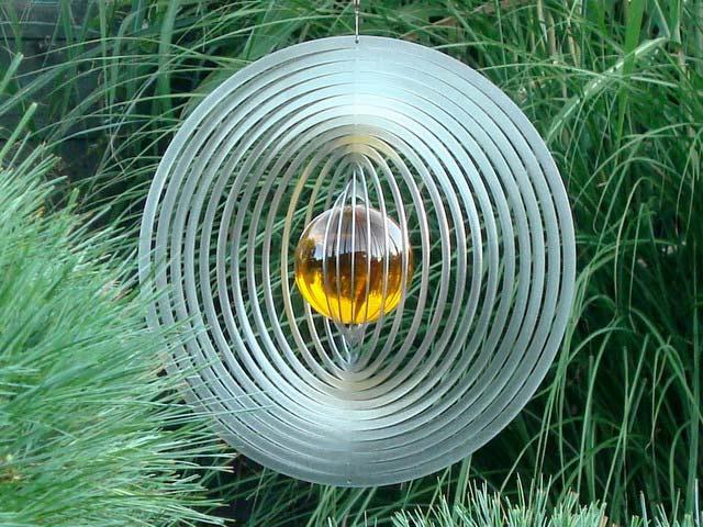 gartenstecker windspiel edelstahl, edelstahl-windspiele, windspiele aus edelstahl, Design ideen