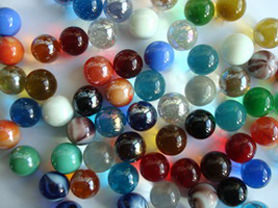 Glass marbles collection buy online