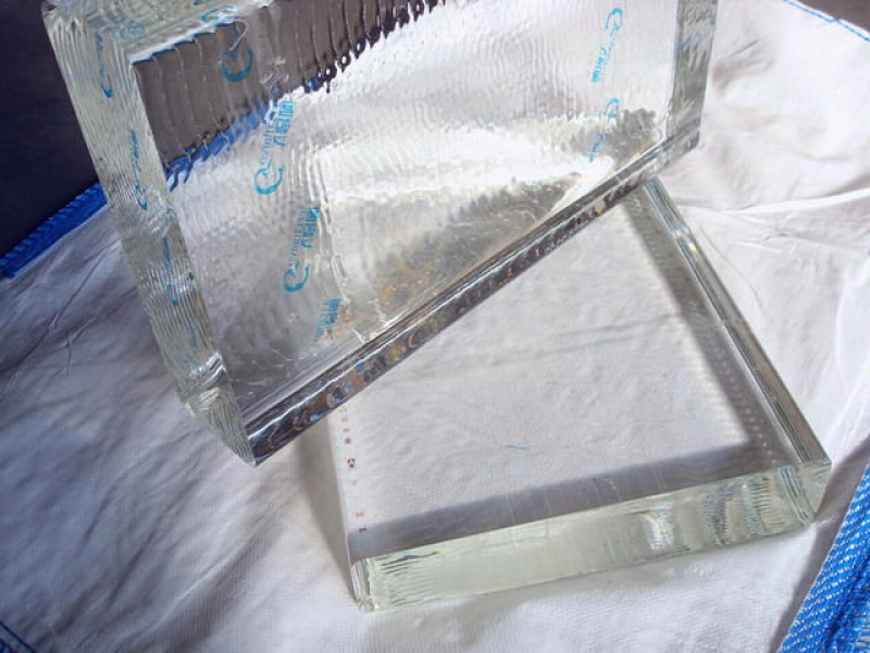 Crystal Glass Block Clear 105 mm Thickness
