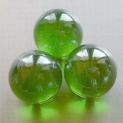 Glass Marbles 16 mm Green | Shimmering Surface | 1 Kg (out of stock)