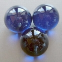 Glass Marbles 16 mm Cobalt Blue | Shimmering Surface | 1 Kg