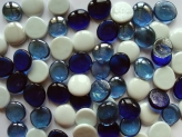 Glass Pebbles 28-30 mm Mix 2 | Glass Nuggets
