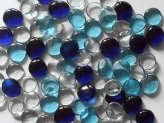 Glass Pebbles 28-30 mm Mix 4 | Glass Nuggets