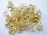 Glass Stones 10-20 mm Amber | Dry | 20 Kg | fire pit glass | glass lump