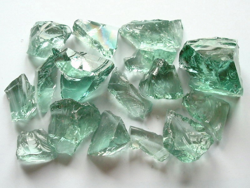 garden glass stone